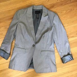 Banana Republic light gray blazer 8